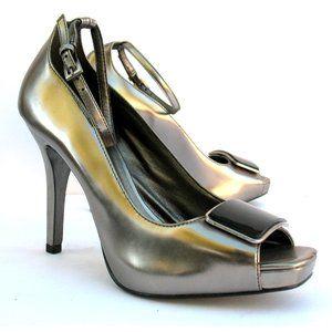 Jessica Simpson High Heel Shoes Open Toe Sz 7.5 B
